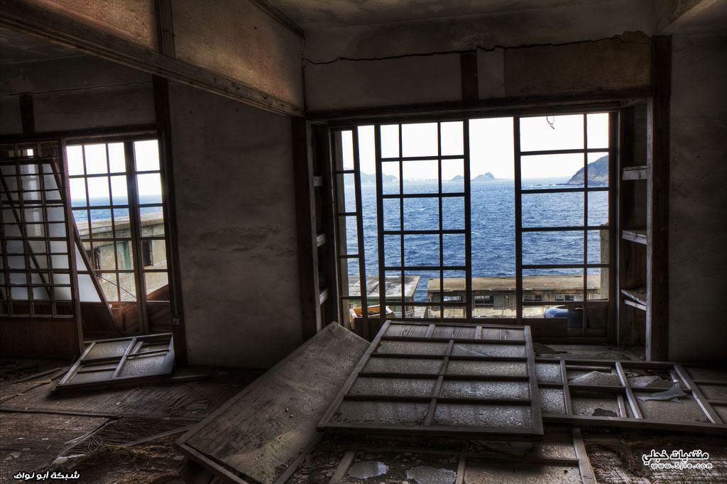 جزيرة الاشباح اليابان جزيرة الاشباح