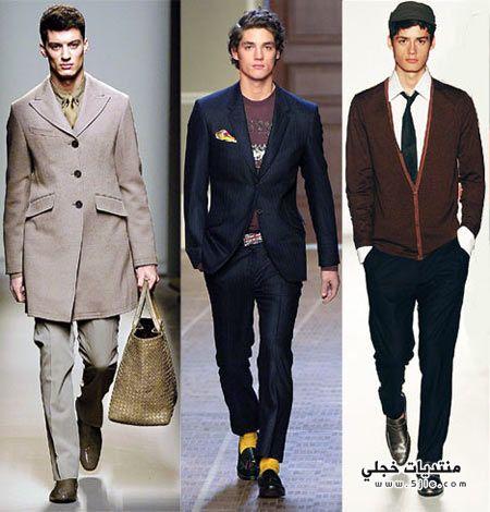 ملابس كاسيك للرجال والشباب 2013