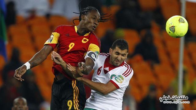 تعادل المغرب انجولا افريقيا 2013