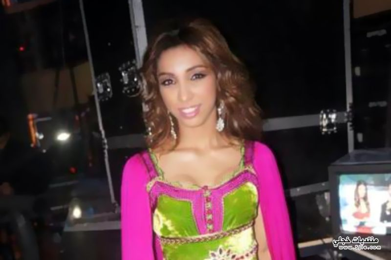 دنيا بطمة بالقفطان المغربي 2013