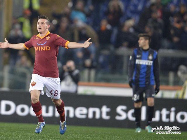 روما يتغلب الانتر ايطاليا 2013