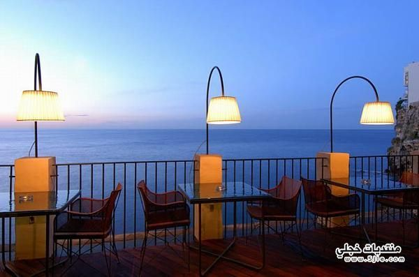 مطعم إيطالي معلق البحر والسماء