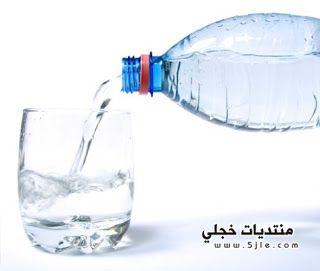 الحكمه الماء ثلاث دفعات الماء
