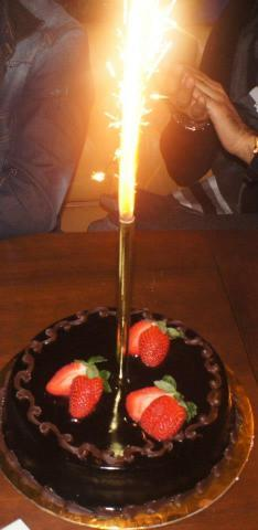 رحمة رياض تحتفل بعيد ميلادها