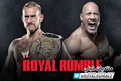 royal rumble 2013 rock punk