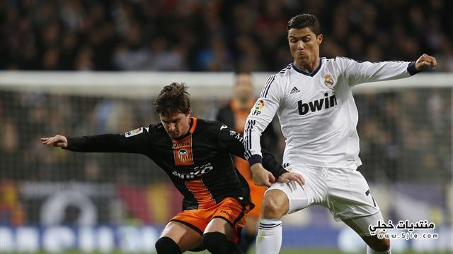 ريال مدريد يفوز فالنسيا الملك