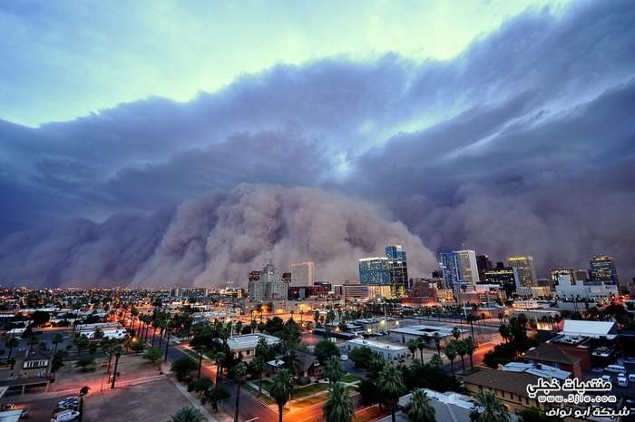 عواصف ترابية العالم عواصف ترابية