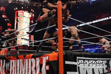 royal rumble match 2013 ثلاثين