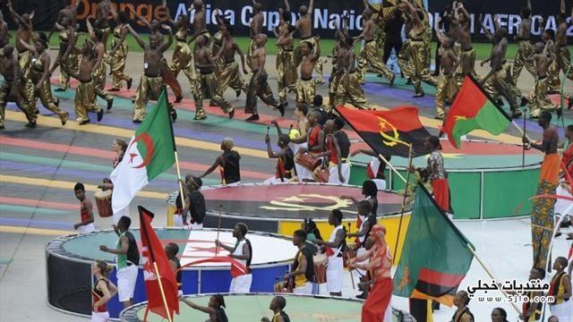 الامم الافريقية 2013 افتتاح الامم