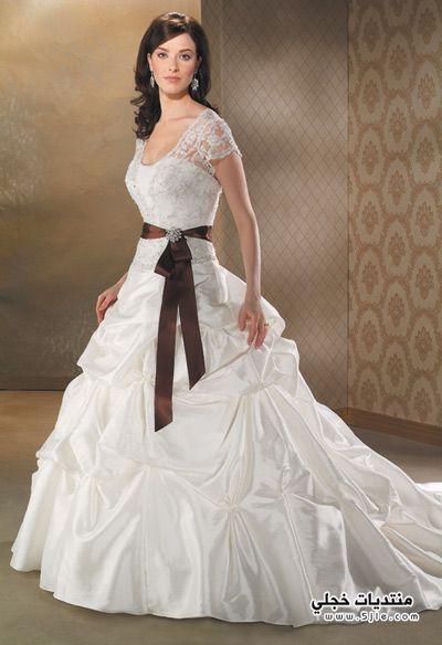 فساتين عروس 2013 ازياء عروس