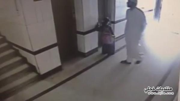 الشاب المتحرش بطفلة المصعد