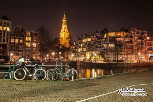 السياحه مدينة امستردام 2014