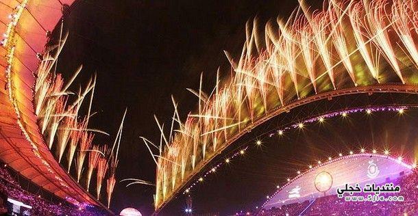 الالعاب النارية العالم احتفالات العالم