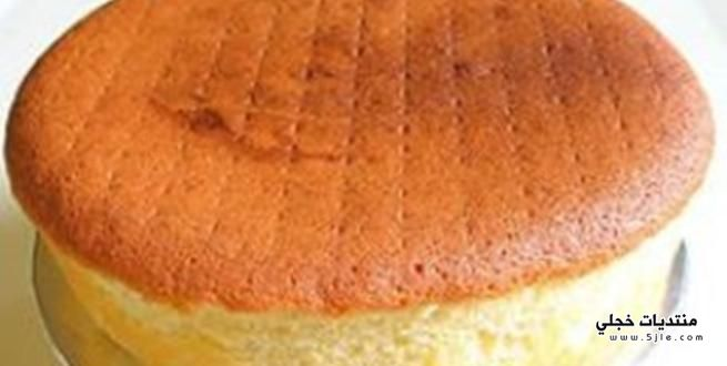 الكيكة الاسفنجية 2014 طريقة الكيكة