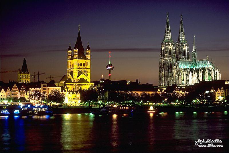 مدينة كولون الالمانية السياحة مدينة