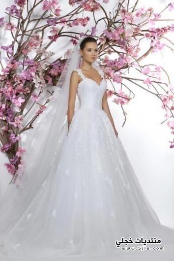 فساتين زفاف 2016 موديلات ازياء