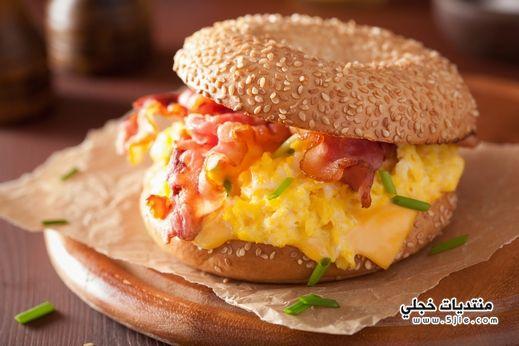 طريقة تحضير ساندويش البيض المخفوق