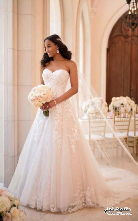 فساتين زفاف منفوش 2020