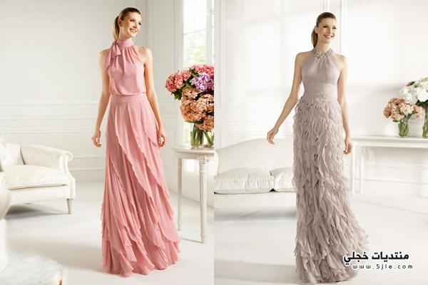 فساتين طويله 2013 Long dresses