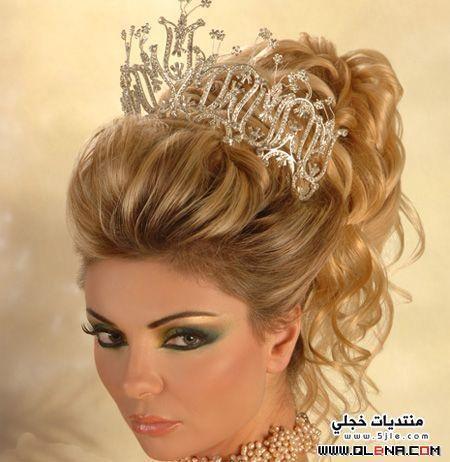 اجدد تسريحات للعرايس Hairstyles bride