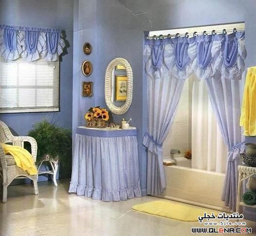 ����� ������ Cute Curtains Bathrooms