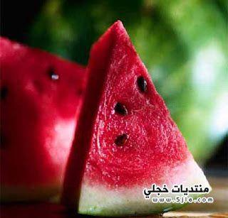 البطيخ فيتامينات ومعادن وطعم لذيذ