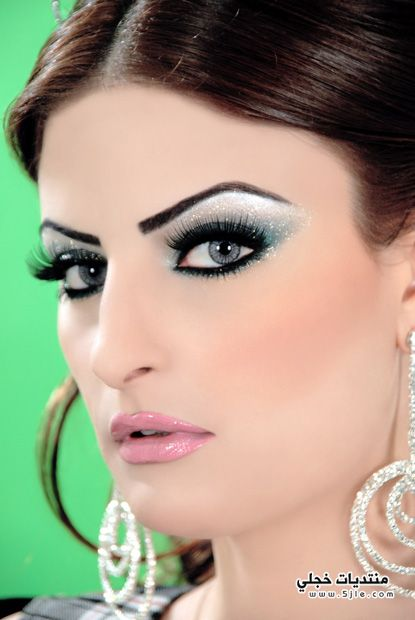 مكياج عرايس عروس خليجي مكياج