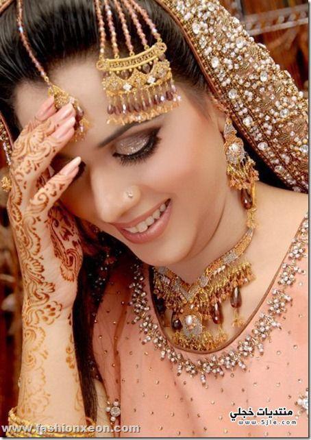 مكياج زفاف باكستاني مودرن 2014