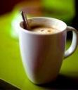 قهوة اللوز والهيل المطحون كيفية