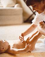 اهمية عملية مساج الطفل كيفية