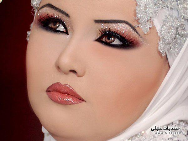 مكياج وتسريحه للعروس روعه 2014