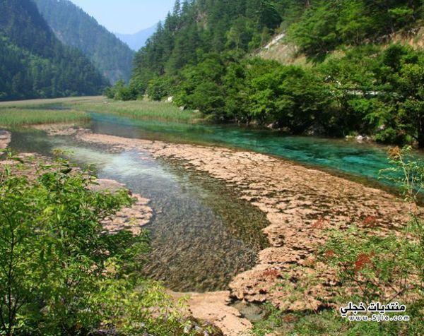 وادي جيوتشايقو الصين 2014 وادى