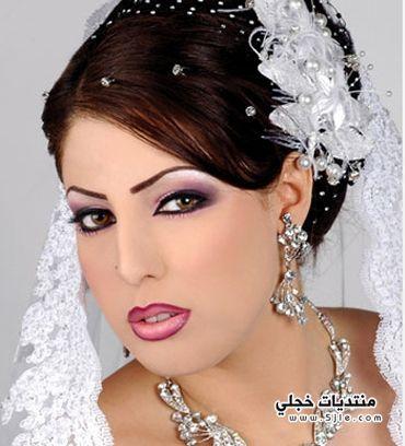مكياج روعة للعروس مجموعة مكياج