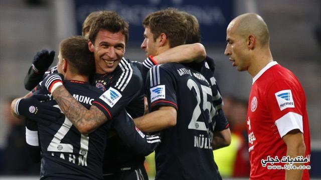 بايرن ميونيخ يفوز ماينز الدوري