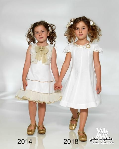 ملابس بنات بالوان زاهية ملابس