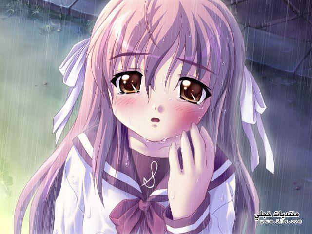 انمي حزين انمي ودموعه الحزينة