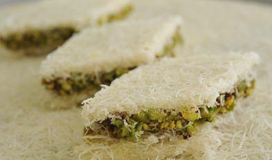 طريقة الكنافة البلورية وصفة الكنافة