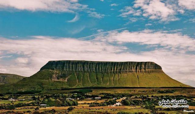 الجبل الاخضر ايرلندا 2014 الجبل