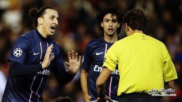 باريس جيرمان يفوز فالنسيا دوري