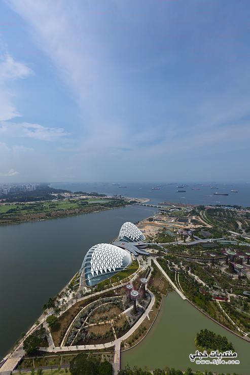 الحديقه الشتويه سنغافورة الحديقه المغلقه