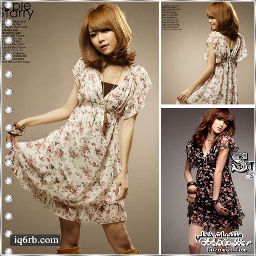 ملابس كورية احدث فساتين كورية