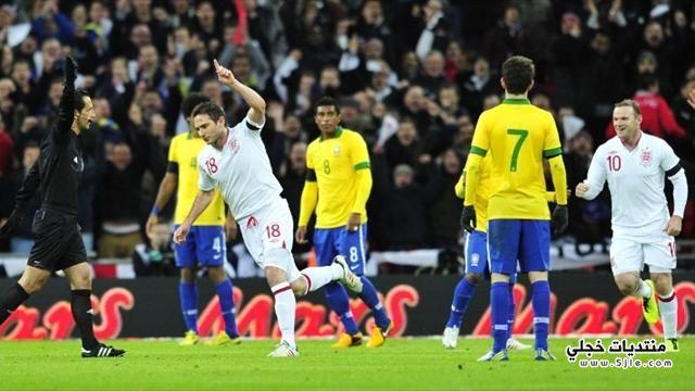 انجلترا تفوز البرازيل 2013 انجلترا