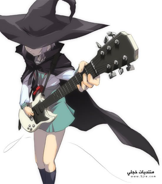 انمي يعزف الجيتار انمي يعزف