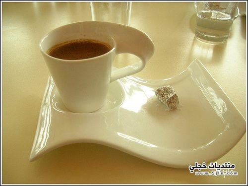 تقديم الماء القهوه فائده تقديم