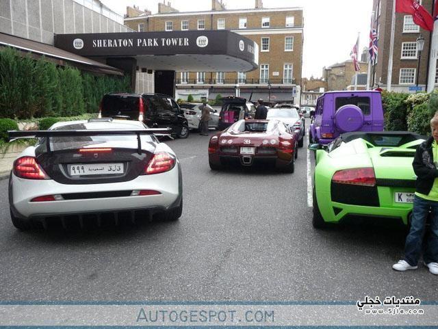 انزعاج سكان لندن اصوات سيارات
