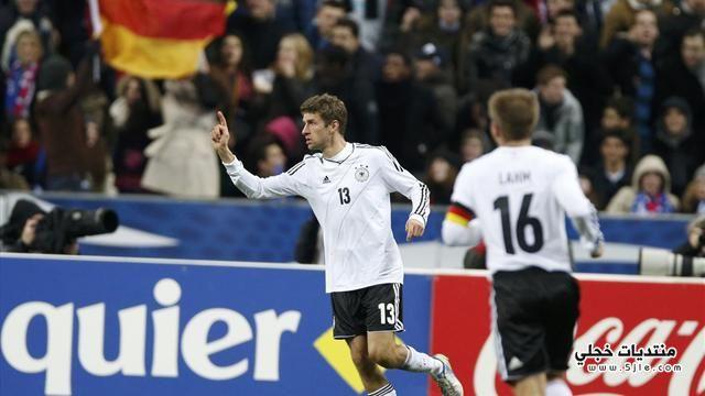 المانيا تفوز فرنسا 2013 الالمان