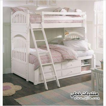 اسرة اطفال بدورين سرير اطفال