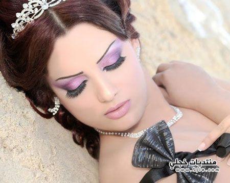 مكياج ناعم للعروس 2014 مكياج