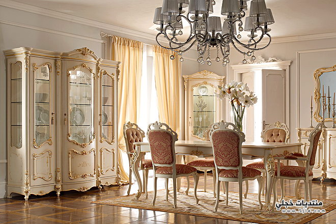 اجمل ديكورات غرفة سفرة 2014