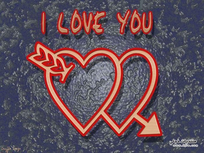 قلوب حمراء لعيد الحب 2014